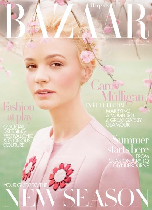 Carey Mulligan Harper's Bazaar UK cover