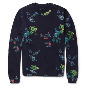 Raf Simons 'Flower Print' Capsule Collection x MR PORTER
