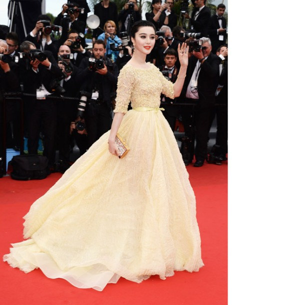 Fan Bingbing in Elie Saab Haute
