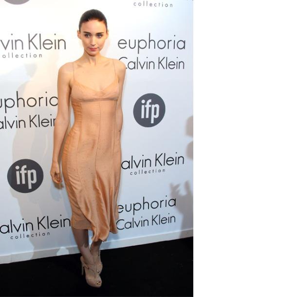 Rooney Mara, in Calvin Klein Collection