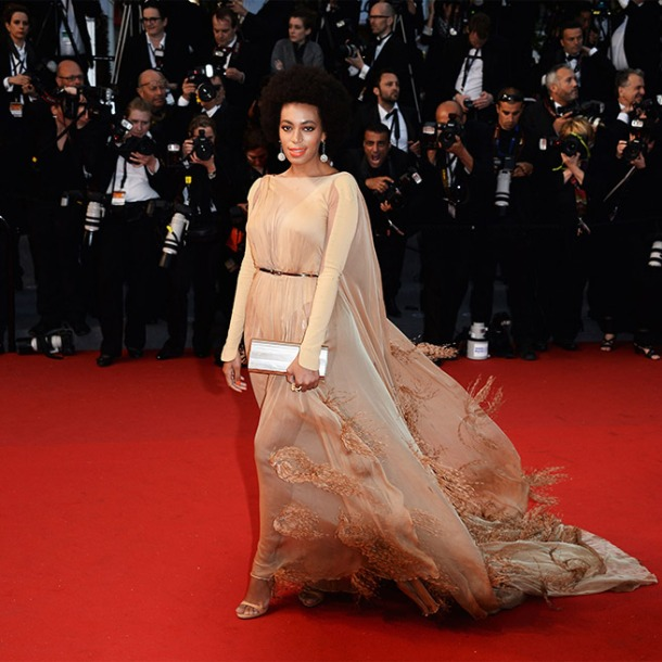 Solange in Stéphane Rolland Couture